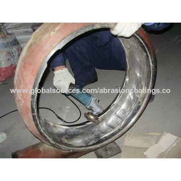 Fan impeller ceramic tile adhesive,high bonding strength,wear abrasion resistant,two component
