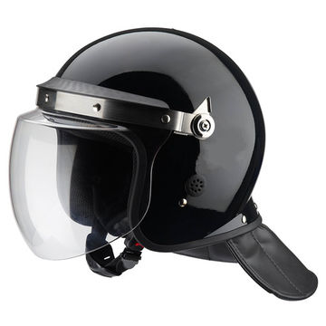 Chinese standard anti-riot police helmet with PC visor