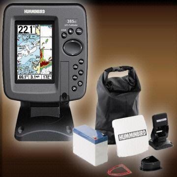 Hummingbird 385ci Fishfinder GPS Combo Kayak Edition