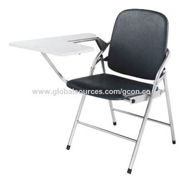 Awesome China Black Leather Folding Training Chair On Global Sources Pabps2019 Chair Design Images Pabps2019Com