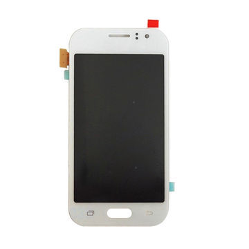 China LCD Display Touch Screen Digitizer Assembly Repair Parts for Samsung Galaxy J110, White