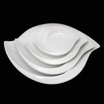Ceramic Plate China Ceramic Plate & Leaf-shaped Ceramic Plate Available in Various Sizes Customized ...