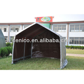 Portable Garage Shelter High Quality Powder Coated Pe Pvc
