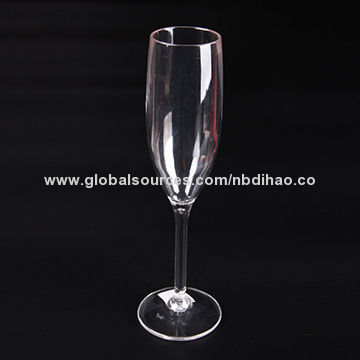 46c6dafb0460 Plastic Polycarbonate Bellini Flute 185mL