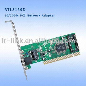 rtl8139d realtek pci 10/100basetx ethernet adaptor