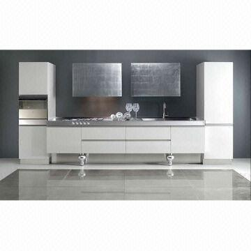 Supply High Gloss Lacquer Modern Kitchen Cabinets Sale | Global Sources