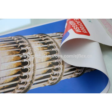 China PVC flex banner from Yiwu Manufacturer: YIWU EXJIA ADVERTISING