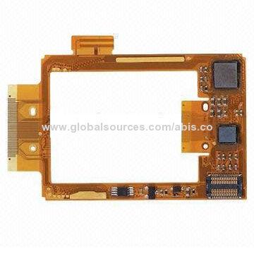 Double layer flexible PCB