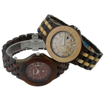 custom logo watches 100% natural wood watches bicolor wrist custom logo watches 100% natural wood watches bicolor wrist watches for man