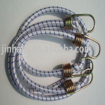 Bungee cord Stretch cord with iron hooks,platict hooks