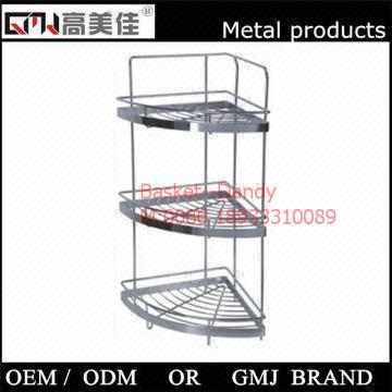 ... China Popular Corner Sink Dish Drying Rack ,OEM Welcome