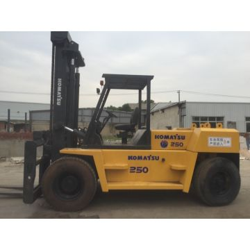 Global Sources China Komatsu 25ton Used Forklift For Sale With High Quality In Low Price