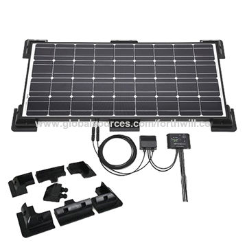 ABS Solar Panel Corner Frame for RV Motorhome | Global Sources