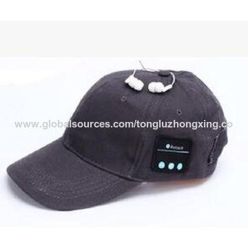 China 2017 New fashionable Bluetooth knitted 100% acrylic basketball sports caps
