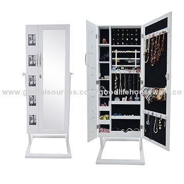 Floor Standing Jewelry Cabinet China Floor Standing Jewelry Cabinet