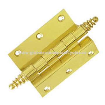 China Half Surface Bending Extruded Brass Door Hinge with