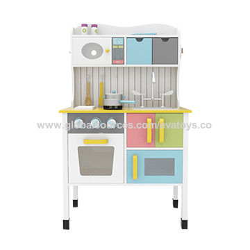 China Preschool educational toys wooden kitchen set toy for ...