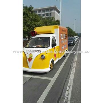 China Electric supplying car in advertising vehicle electric skateboard wholesale