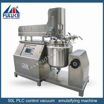 sugar mill plant emulsifier mixer for cosmetics cream emulsifier
