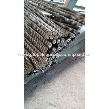 China Low relaxation pre-stressed strand wire, used for highways