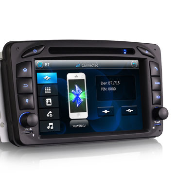 "China 7"" Car Audio System, GPS 3G Bluetooth for Mercedes Benz Viano Vito"