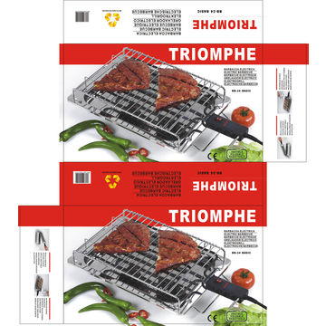China Electric Barbecue Grill with On and Off Switch