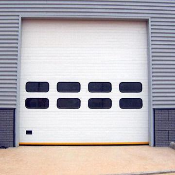 industrial garage door. China Industrial Garage Door, Galvanized Steel, Polyurethane Filler And Hand Protection Door E
