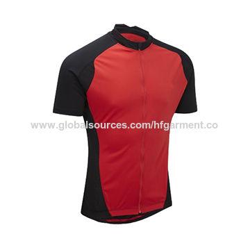 ... China Raglan sleeves two tone color cycling wear shirt