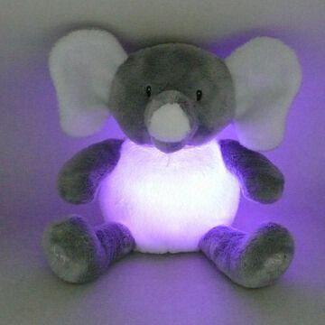 Smart Buy Auto >> China Novelty Plush Light-up Toy in Elephant Design with ...