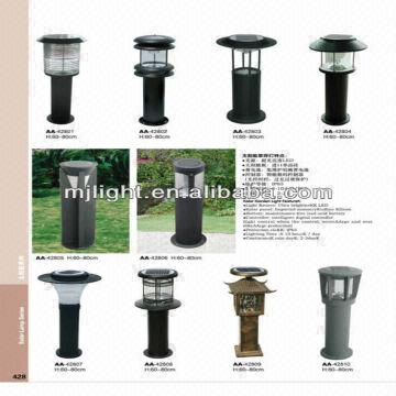 Decorative Garden Led Bollard Light 1 Led 50000 Hours Life