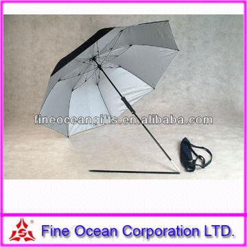 China 2 Folding Fishing Umbrella High Quality Beach Small