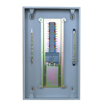 TP electrical panel board with MCCB incomer, surface type, metal ...