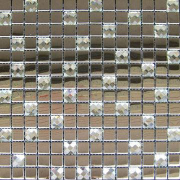 China 304 Stainless Steel Mosaic Tile Available In Various Shapes