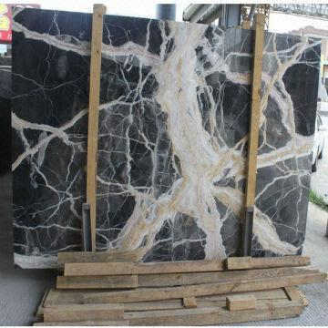 Black Onyx Marble Floor Tile China