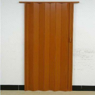 Pvc plastic folding doors