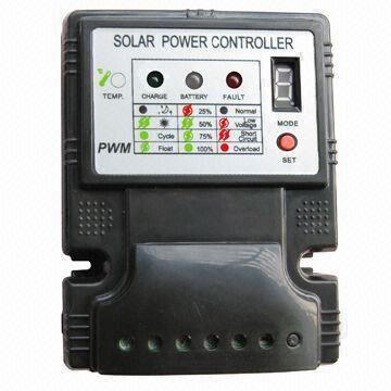 5A Solar Charge Controller with 12/24V Automatic Identify and 16 5 x