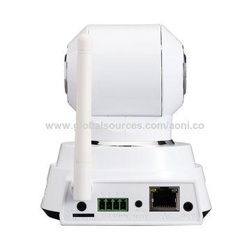 P2P WIFI P/T Indoor IP Camera,speaker,audio jack built-in,Win XP/win7/MAC OS supported,PIR detection