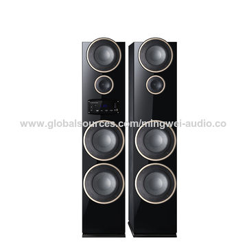 China 2017 New Model 2.0 Home Active Bluetooth Speakers, Systems with Bluetooth, FM Radio, Wireless Mic