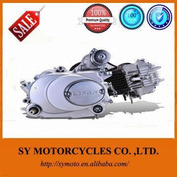 Horizontal electric starting manual 90cc lifan motorcycle