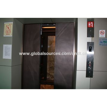 China Passenger elevator with automatic rescue device