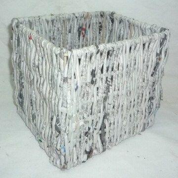 newspaper / metal frame square storage basket | Global Sources