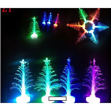 hong kong sar led fiber optic christmas tree three dimensional - Led Fiber Optic Christmas Tree