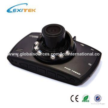 China 1080p HD Car DVR G-sensor Vehicle Video Camera Recorder Dash Cam