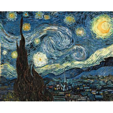 Vincent Van Gogh starry night oil painting reproduction museum ...