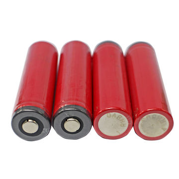 China 18650 Li-ion battery with protected cell, 2600mAh 3.7V