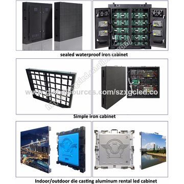 Outdoor LED board screen