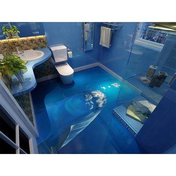 3D tiles 3D flooring porcelain tiles barthroom liv