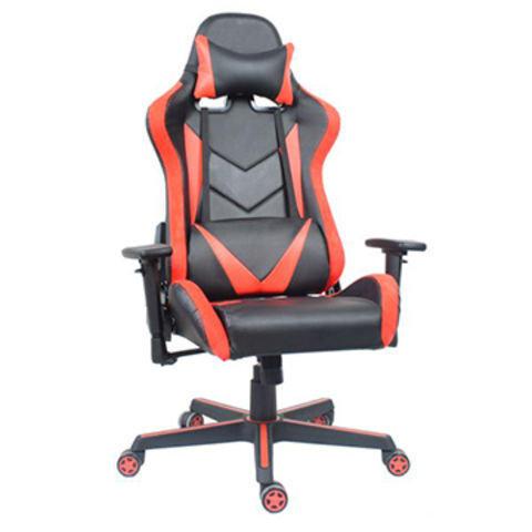 China China Anji Oem Cheap New Swivel Leather White Red Office Pc
