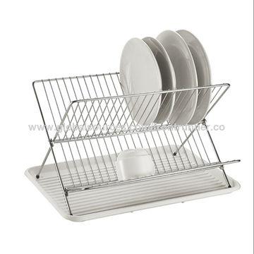 Global Sources Dish Rack Storage Shelf, Plate Storage Rack