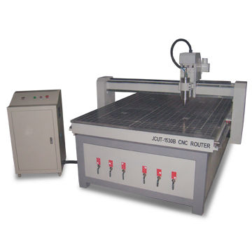 JCUT 5810' 3d wood CNC engraving machine with 3KW spindle, linear